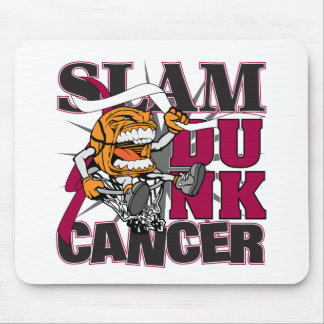 Head Neck Cancer - Slam Dunk Cancer Mouse Pad