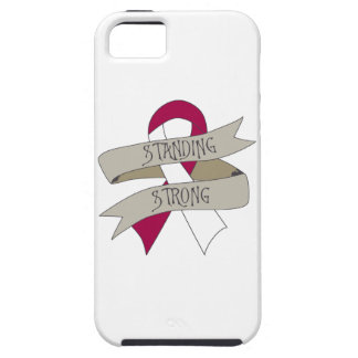 Head Neck Cancer Standing Strong iPhone 5 Case