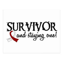 Head Neck Cancer Survivor 18 Postcard
