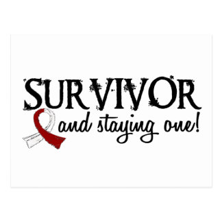 Head Neck Cancer Survivor 18 Postcard