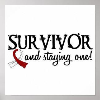 Head Neck Cancer Survivor 18 Print