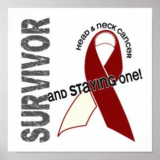HEAD NECK CANCER Survivor 1 Print