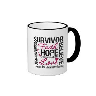 Head Neck Cancer Survivors Motto Coffee Mug