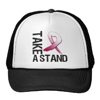 Head Neck Cancer Take A Stand Mesh Hats
