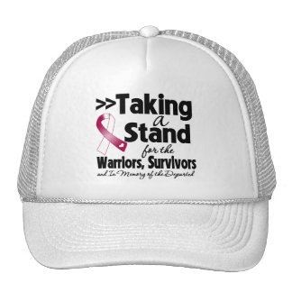 Head Neck Cancer Taking a Stand Tribute Mesh Hat