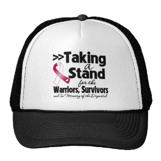 Head Neck Cancer Taking a Stand Tribute Mesh Hats