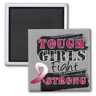 Head Neck Cancer Tough Girls Fight Strong Magnet