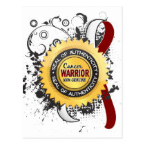Head Neck Cancer Warrior 23 Postcard