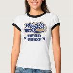 Head Nurse Gift T-Shirt