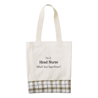 Head Nurse Zazzle HEART Tote Bag