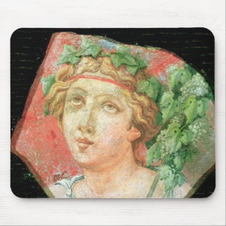 Head of a bacchante mouse pad