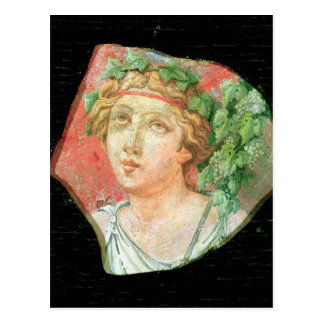 Head of a bacchante postcard