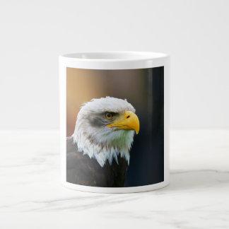 Head of a Bald Eagle Haliaeetus Leucocephalus Giant Coffee Mug