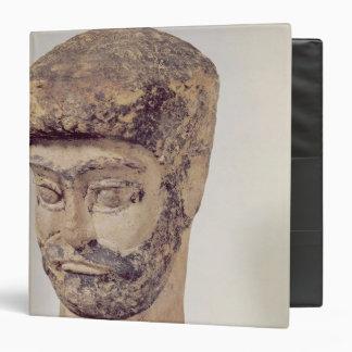 Head of a beaded man, c.1800 BC Binder