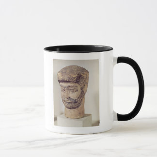 Head of a beaded man, c.1800 BC Mug