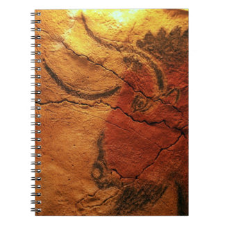 Head of a bison Altamira Cave Notebook