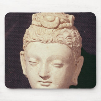 Head of a Buddha, Greco-Buddhist style Mouse Pad