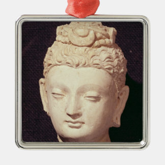 Head of a Buddha, Greco-Buddhist style Christmas Tree Ornaments