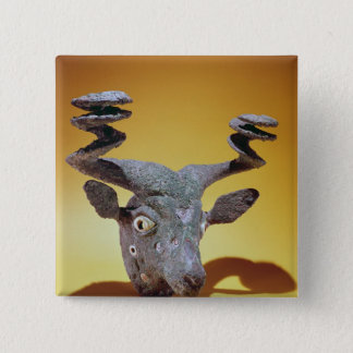Head of a Bull, from Iraq, c.2000 BC Button
