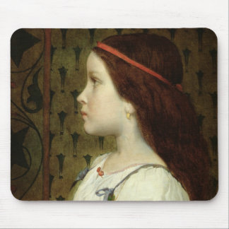 Head of a Child, 1866 Mouse Pad