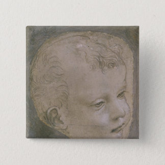 Head of a Child Button