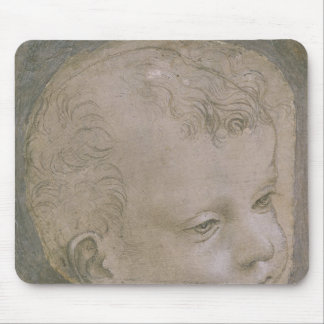 Head of a Child Mouse Pad