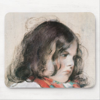 Head of a Child Mousepads