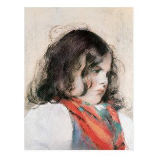 Head of a Child Postcard