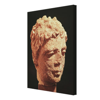 Head of a Divinity Canvas Print