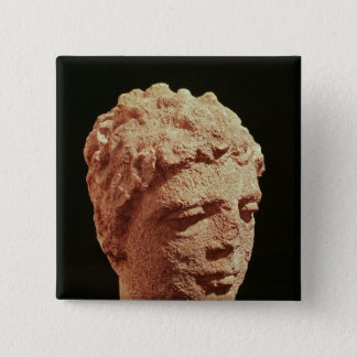 Head of a Divinity Pinback Button