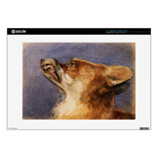 """Head of a Fox Skins For 15"""" Laptops"""