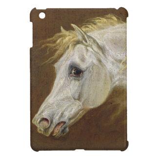 Head of a Grey Arabian Horse (oil on canvas on pan Case For The iPad Mini