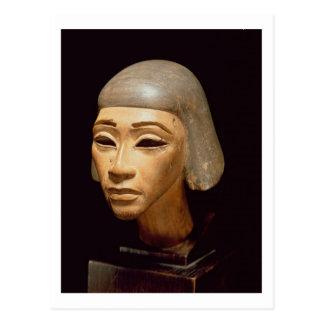 Head of a Harpist, from Tell El-Amarna, c.1370-136 Postcard