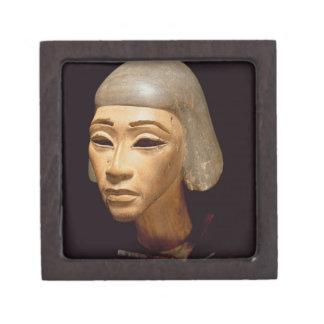 Head of a Harpist, from Tell El-Amarna, c.1370-136 Premium Trinket Boxes