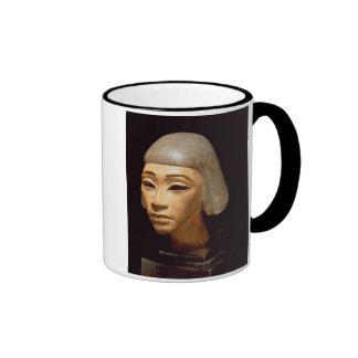Head of a Harpist, from Tell El-Amarna, c.1370-136 Ringer Mug