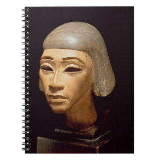 Head of a Harpist, from Tell El-Amarna, c.1370-136 Spiral Notebook