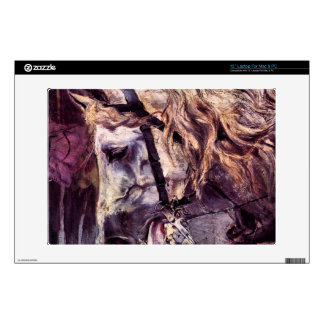 Head of a horse by Giovanni Boldini Laptop Decals