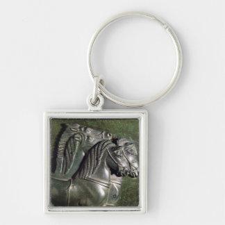 Head of a horse from a quadriga key chain