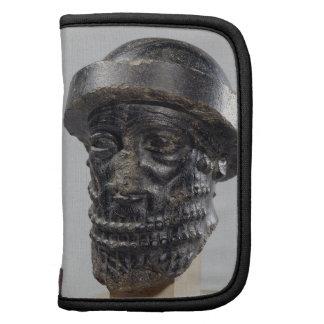 Head of a king, possibly Hammurabi, king of Babylo Organizers
