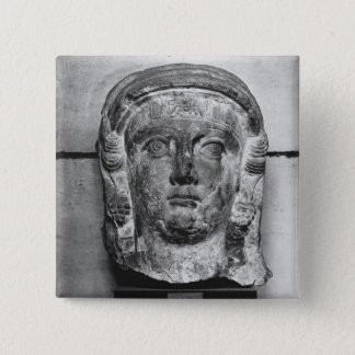 Head of a lady from Palmyra, mid-2nd century AD Button