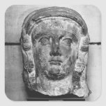 Head of a lady from Palmyra, mid-2nd century AD Stickers