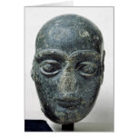 Head of a man greeting cards