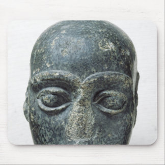 Head of a man mouse pad