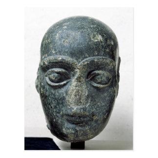 Head of a man postcard