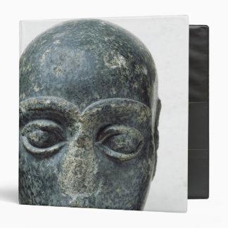 Head of a man vinyl binder
