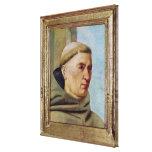 Head of a Monk Canvas Print