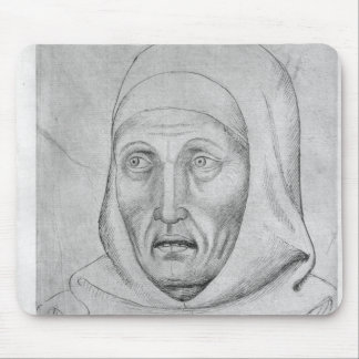 Head of a monk, from the The Vallardi Album Mouse Pad