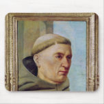 Head of a Monk Mouse Pad