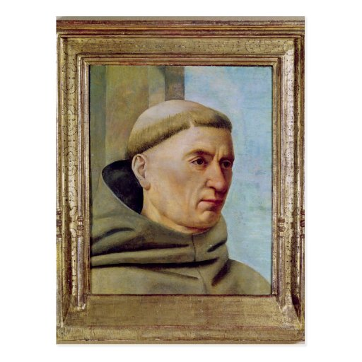 Head of a Monk Postcard