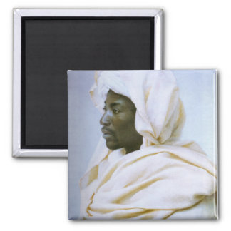 Head of a Moor 2 Inch Square Magnet